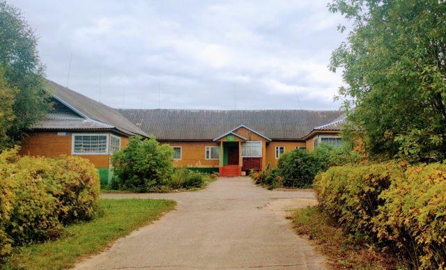 Здание детского сада № 4 посёлка Максатиха