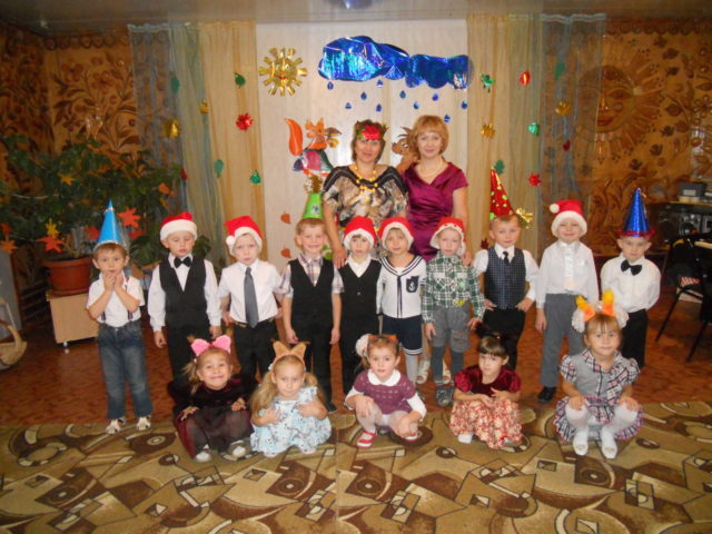 В детском саду для детей провели праздник осени